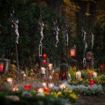 """Wien - AETERNA Lichte-Sozialaktion auf dem """"Friedhof der Namenlosen"""""""